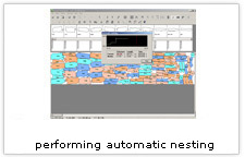 EuroCAD Automarker - performing automatic nesting