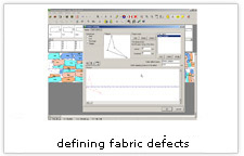 EuroCAD Automarker - defining fabric defects
